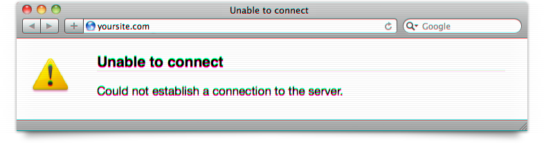 Unable to Connect